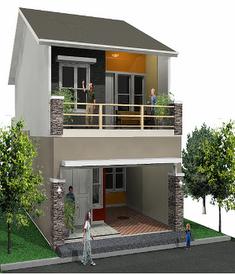 10 gambar rumah sangat sederhana yang menawan | desain