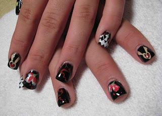 29 wonderful twilight nail art ledufa fancy twilight nail art 27 following inspiration article prinsesfo Gallery