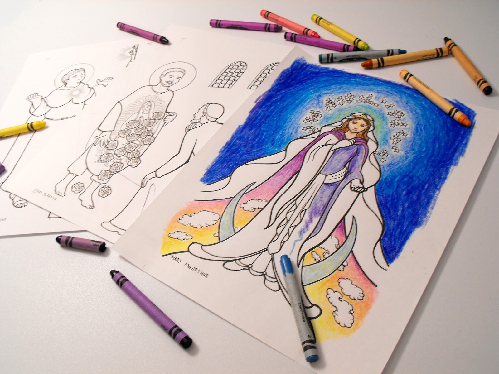 liturgical coloring pages - photo#22