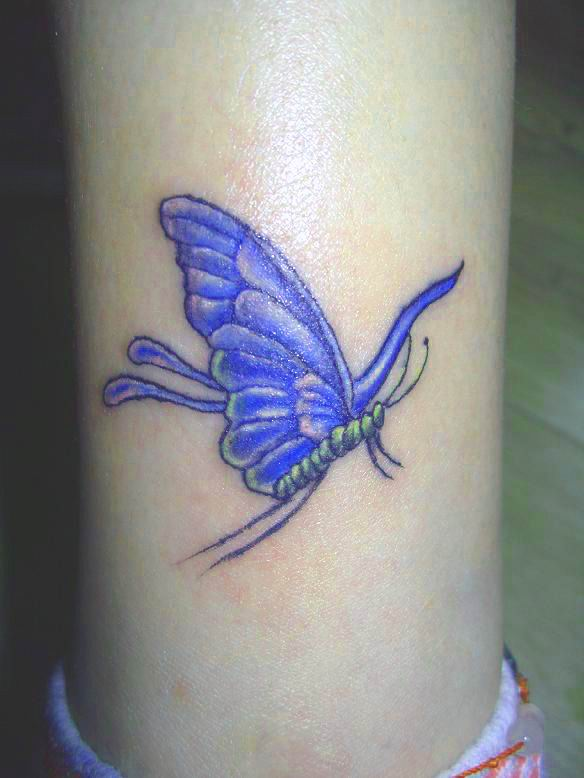 Butterfly tattoos on wrist combine blog for Butterfly tattoo wrist designs
