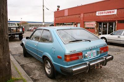 1976 Honda Accord CVCC hatchback.
