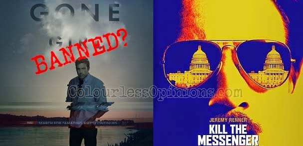 Gone Girl Kill the Messenger Malaysia