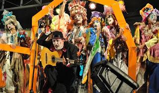 Agrupacion carnavalesca uruguaya A contramano
