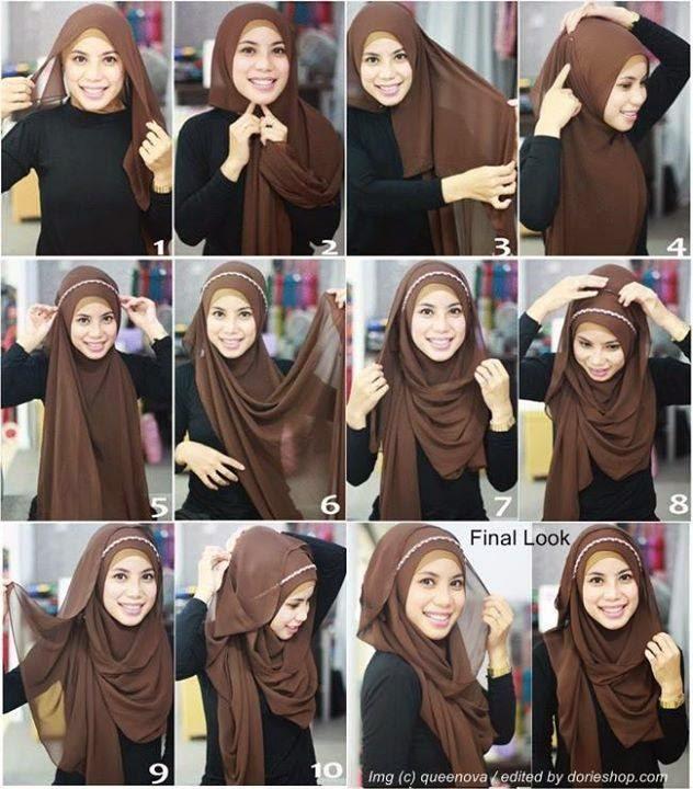 Cara Hijab Pashmina Cantik