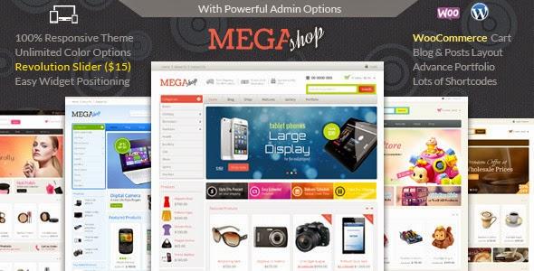 Mega Shop WooCommerce Responsive