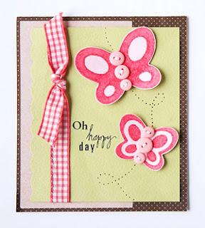 tarjetas con mariposas