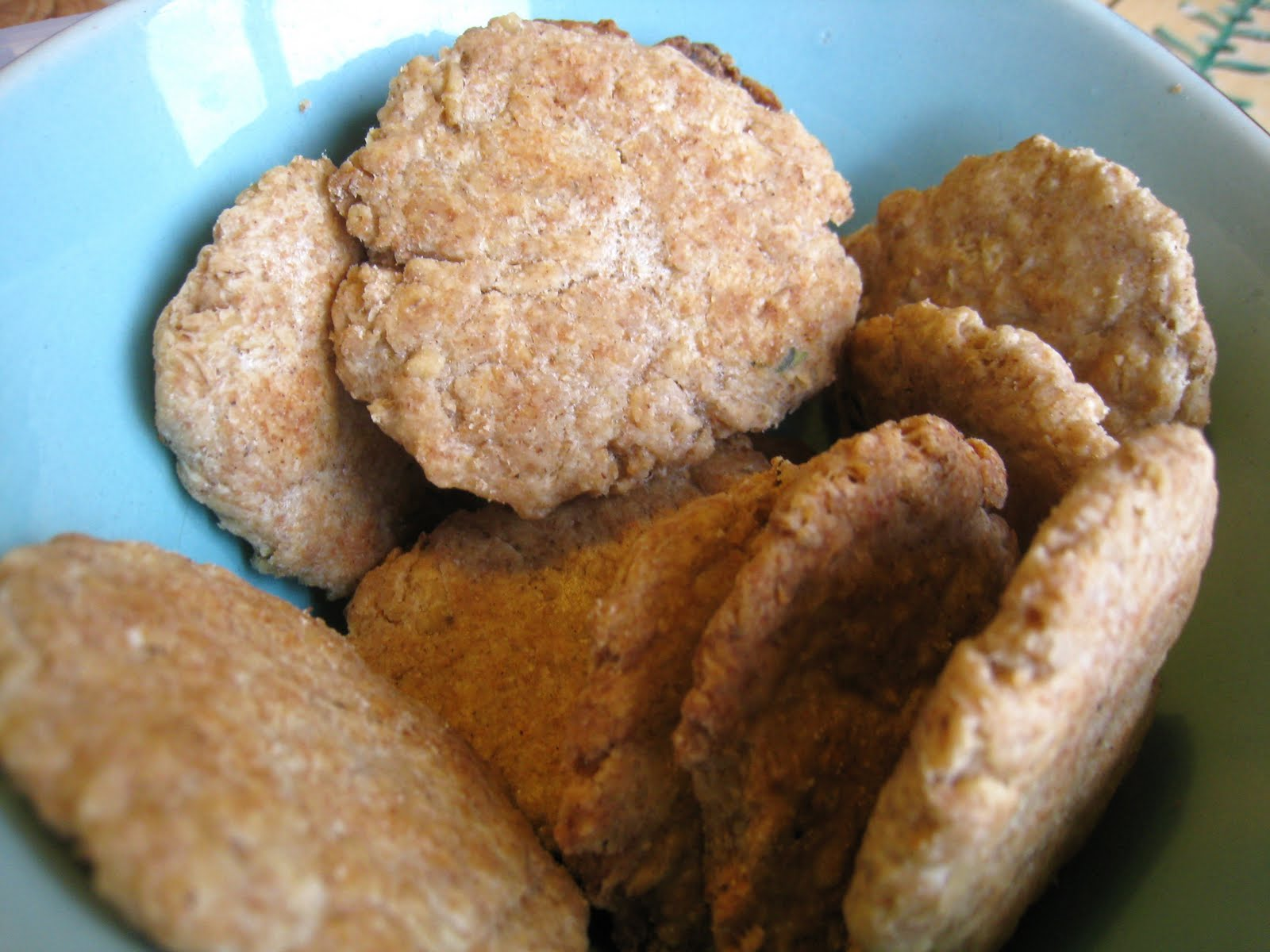 Oat crackers: a recipe