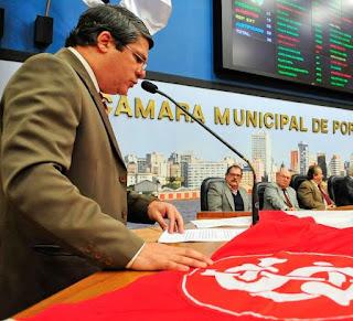 Homenagem Vereador Paulo Marques Inter Libertadores 2010