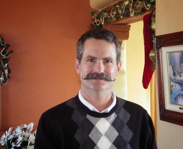 Handlebar Mustache at seven months