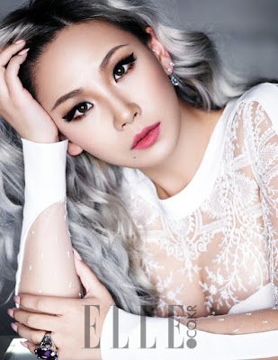CL 2NE1 Elle December 2015