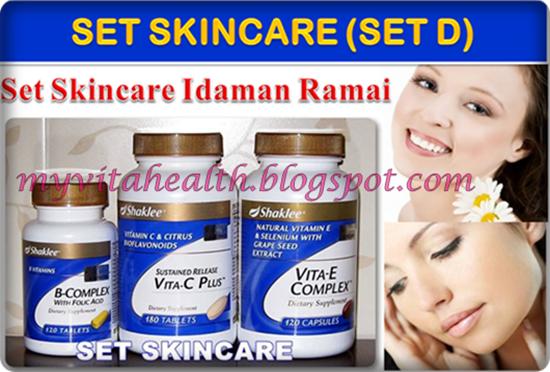Set Skincare Shaklee (Set D)