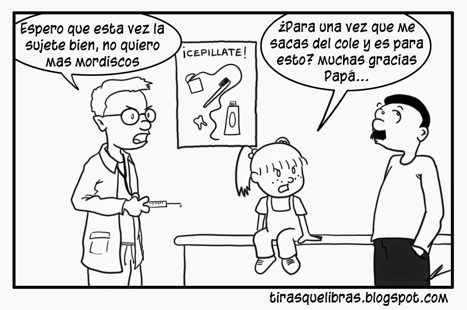 webcomic, jen va al medico