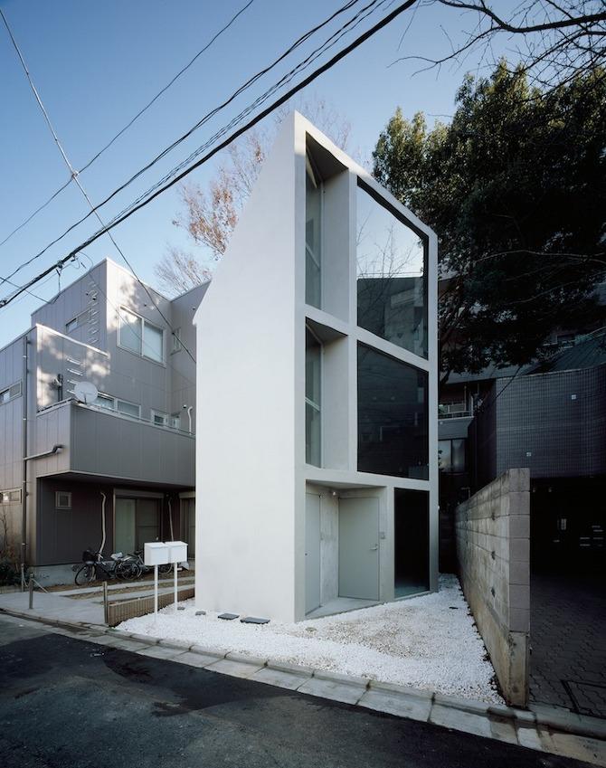 Casa minimalista en Tokio