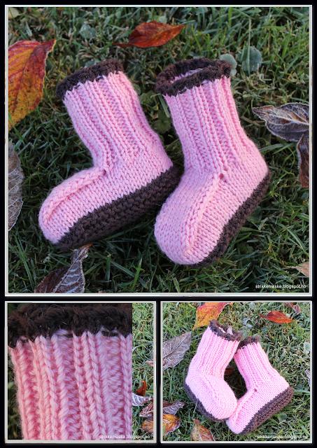 Strikka sokker