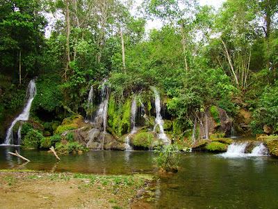 Passeio no Parque das cachoeiras em Bonito, MS