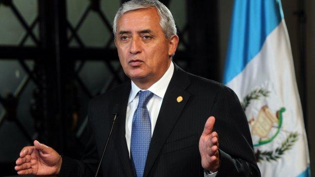 Otto Pérez Molina renuncia ao cargo