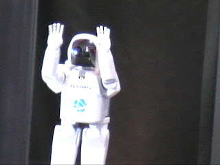 ASIMO robot Miraikan Tokyo Japan Japon