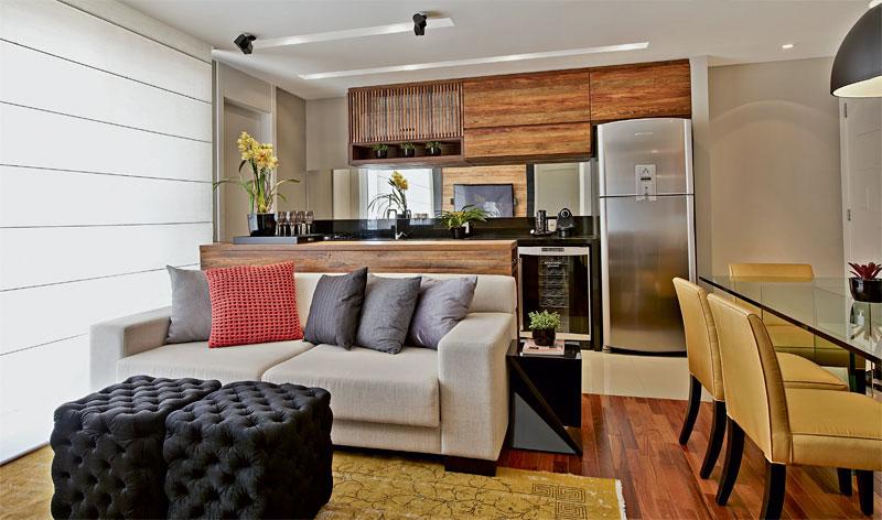 decoracao de ambientes pequenos e integrados : decoracao de ambientes pequenos e integrados: de um antes e depois  vou mostrar esse lindo apartamento de um