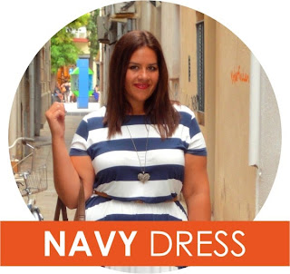 Navy Dress by Asos