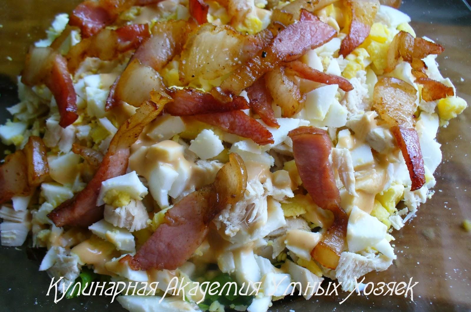 Салаты курица с грибами рецепты с простые и вкусные 182