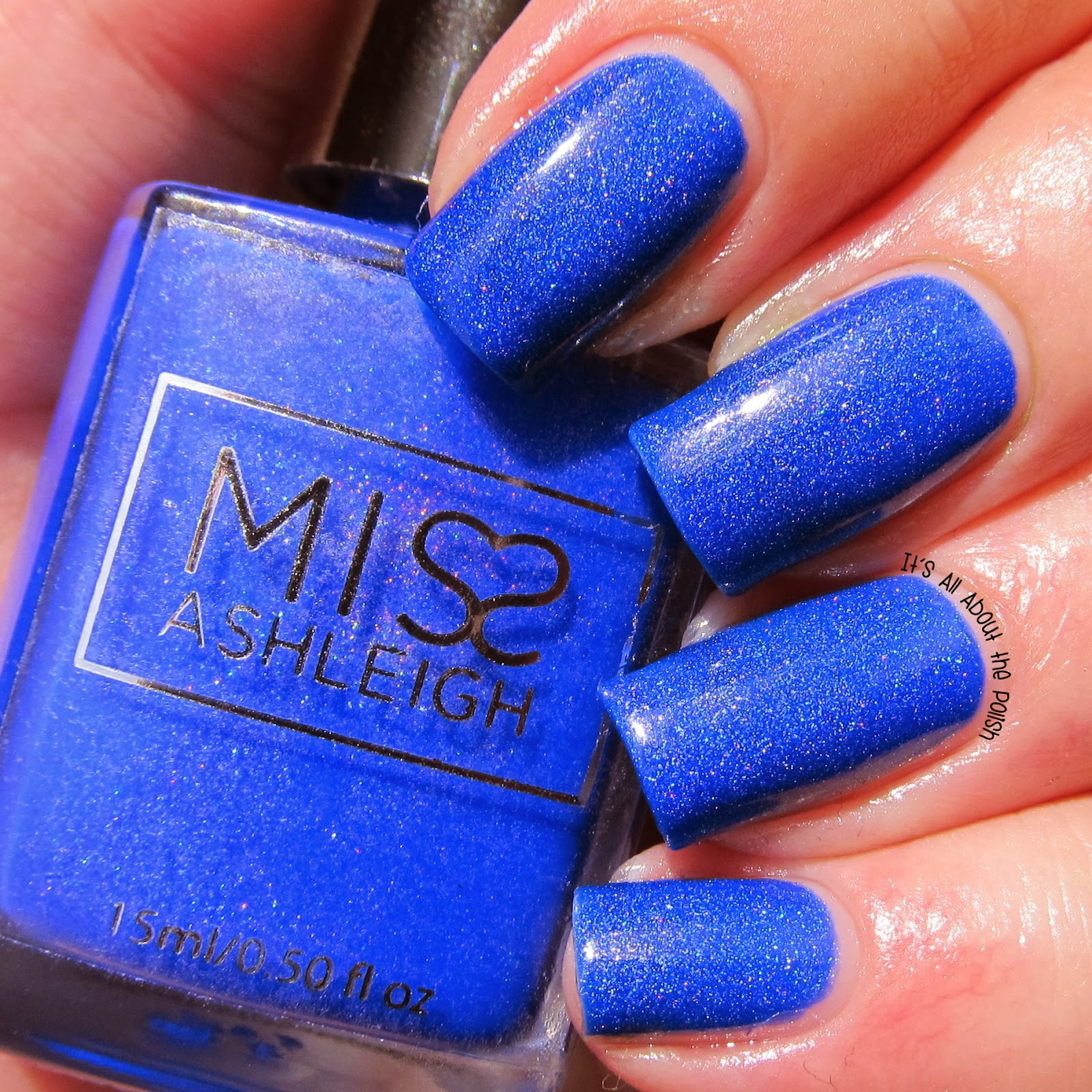 it u0027s all about the polish miss ashleigh deja blue swatches and