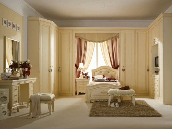 LUXURY GIRLS BEDROOM DESIGN IDEAS