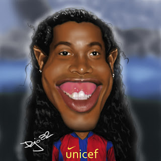 Ronaldinho Barcelona wallpaper