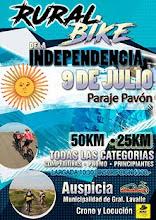 """Rural bike """"Día de la Independendia"""" - 9 de Julio Pje. Pavón"""