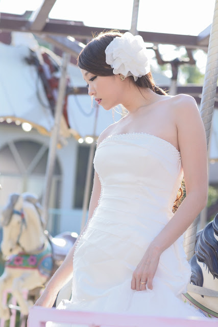 5 Lee Eun Hye in Wedding Dress - very cute asian girl - girlcute4u.blogspot.com