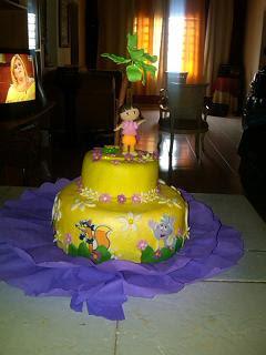 Torta Dora la Exploradora