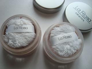 La Rosa Mineralny podkład w pudrze i bronzer