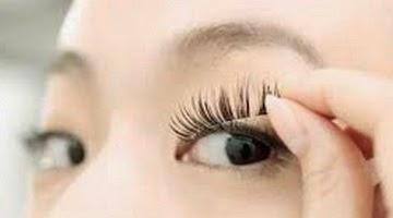 Cara Memasang Bulu Mata Palsu sendiri