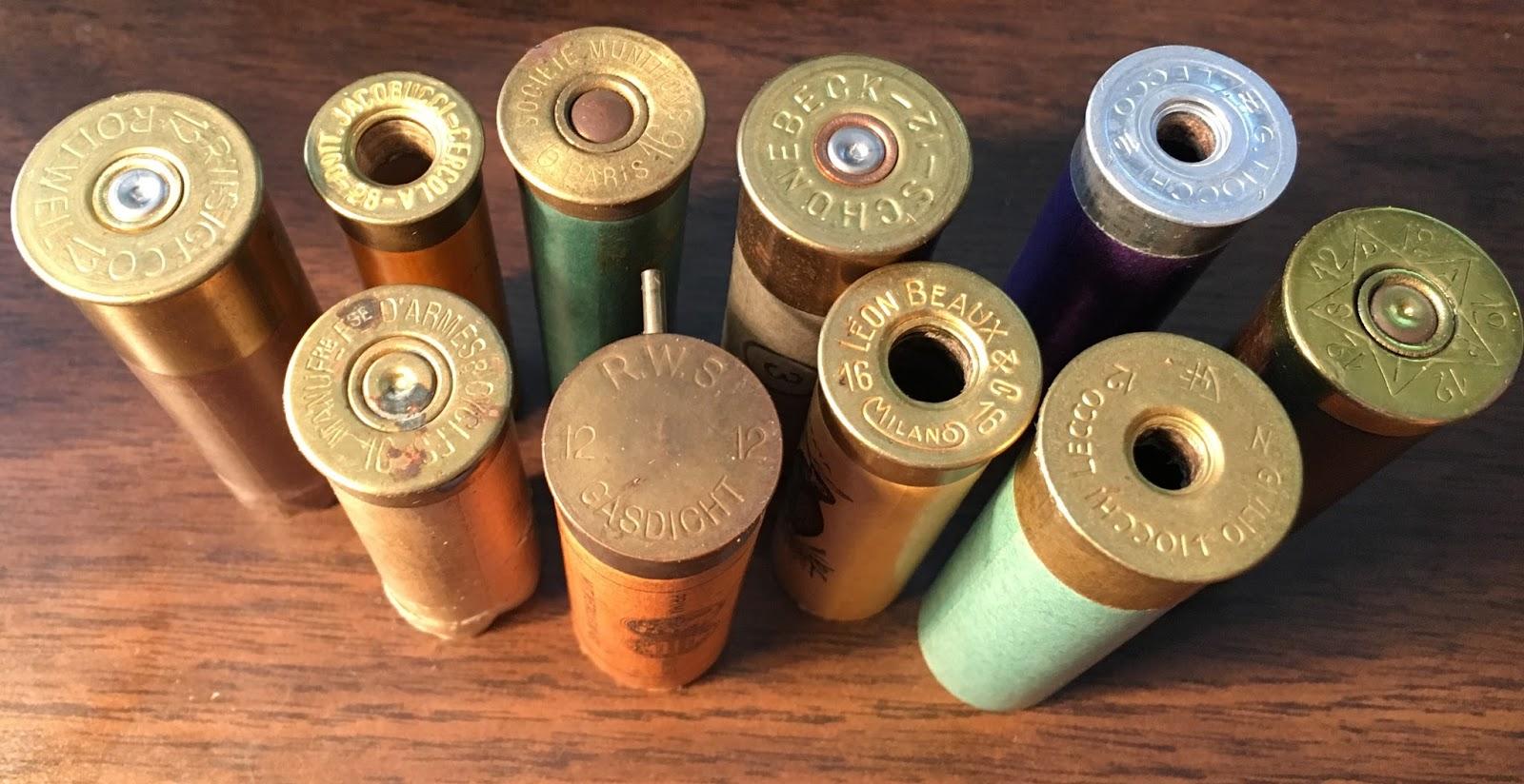 Ammo and Gun Collector: Old European Paper Shotgun Shells