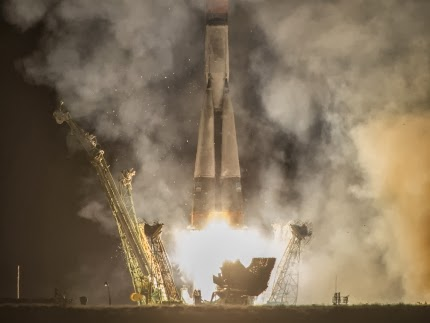 New Expedition 37 Crew Launches to Space Station