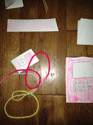 doll ipod computer ruler