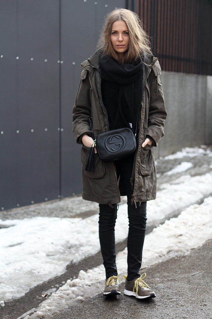 Fashion And Style Winter Parka