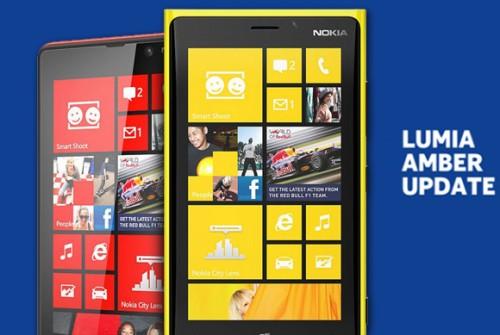 Iniziato l'aggiornamento a livello globale della nuova versione Wp8 Amber su tutti gli smartphone Lumia di Nokia