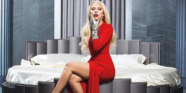 #AHSHotel - American Horror Story - Hotel : Maquillage inspiré de Lady Gaga