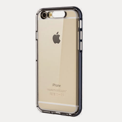 TPU Incoming Call LED Blink Transparent Back Case Cover for iPhone 6 / 6 Plus
