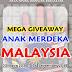 Mega Giveaway Anak Merdeka Malaysia