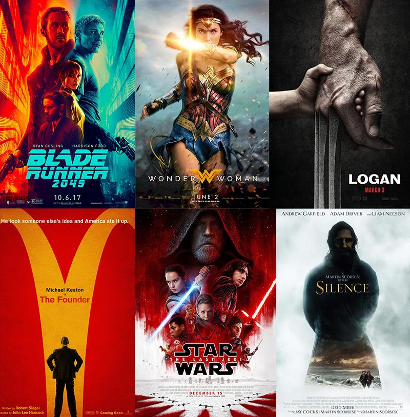 Podsumowanie filmowe 2017 roku