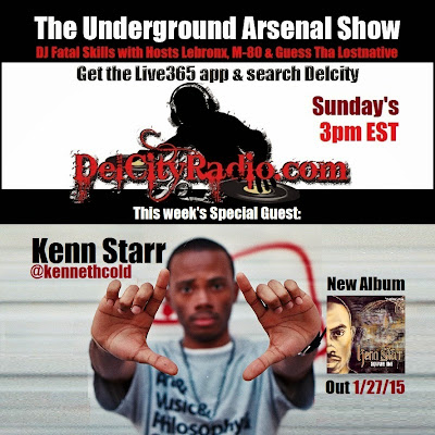 http://www.mixcloud.com/DelCityRadio/the-underground-arsenal-show-with-special-guest-kenn-starr/