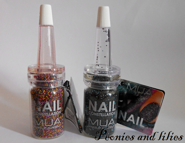 MUA nail constellation scorpio, Mua nail constellation libra