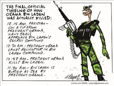Osama Bin Laden Killed in US Military Operation in Pakistan Theo1