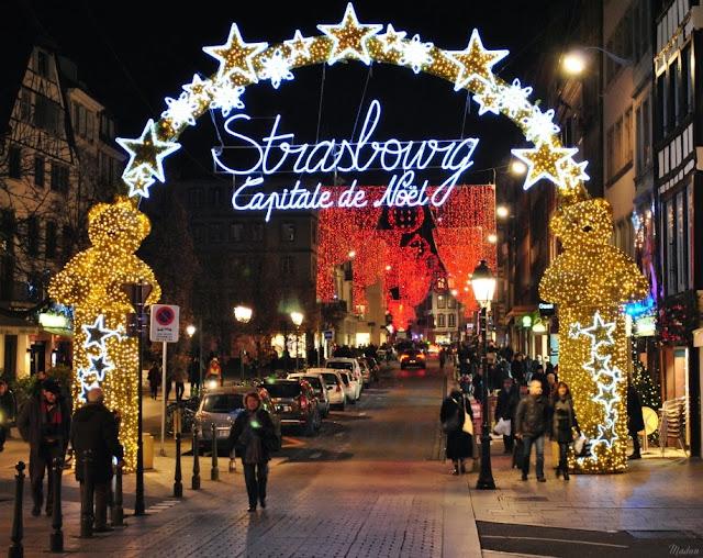 Świąteczny Strasbourg