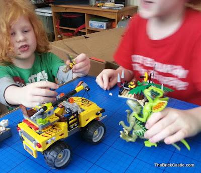 Jurassic World 2015 meets LEGO Dino 2012