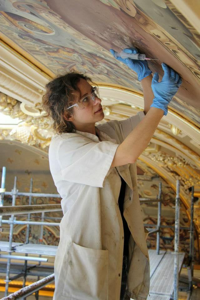 Restauration de dorures et polychromies à Nice