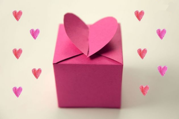 Bonitas cajas rom nticas manualidades para regalar un - Cajas para manualidades ...