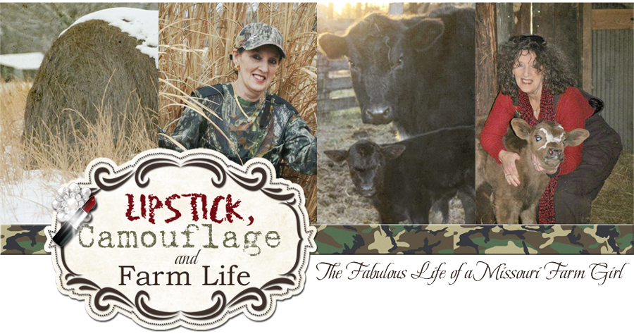 Lipstick, Camouflage, and Farm Life