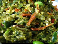 Cara membuat masakan sambal hijau Padang